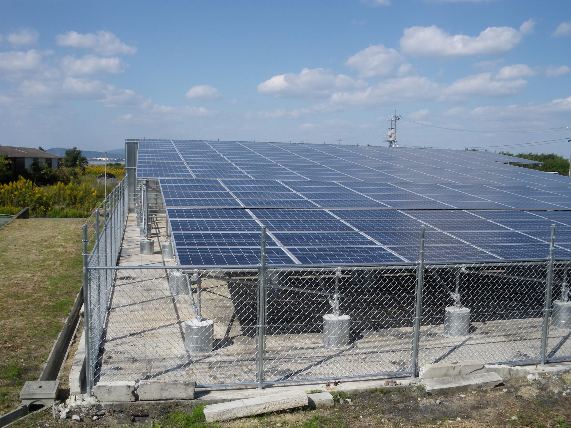 原子力発電に代わる太陽光発電