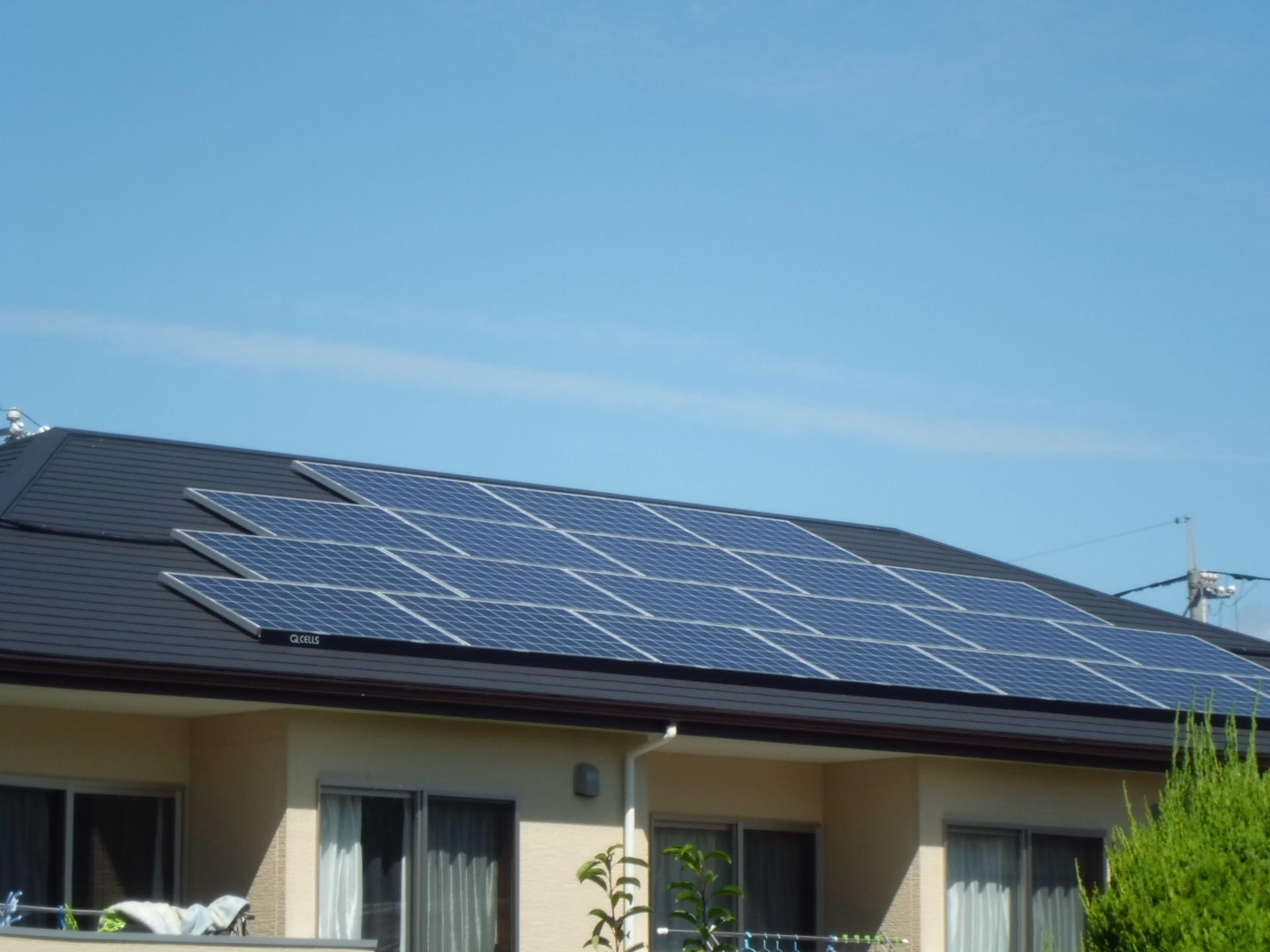 太陽光発電導入後も節電