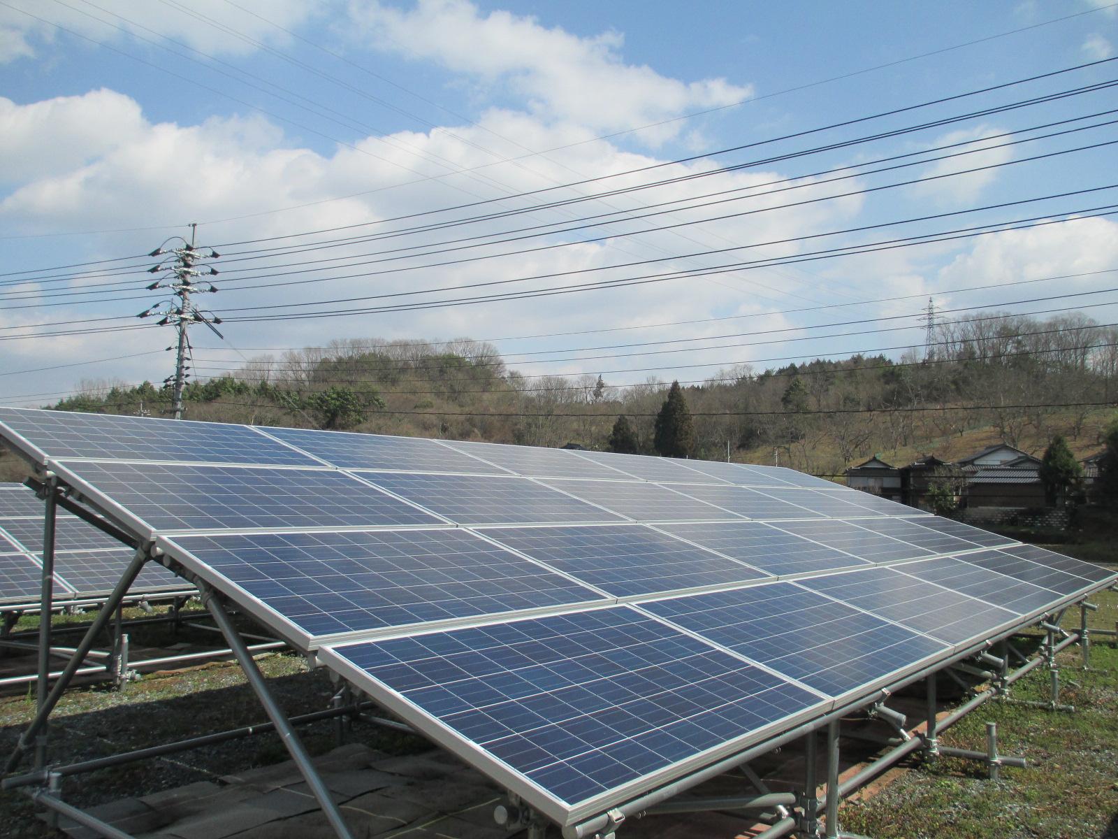 新たな投資として魅力の分譲型太陽光発電