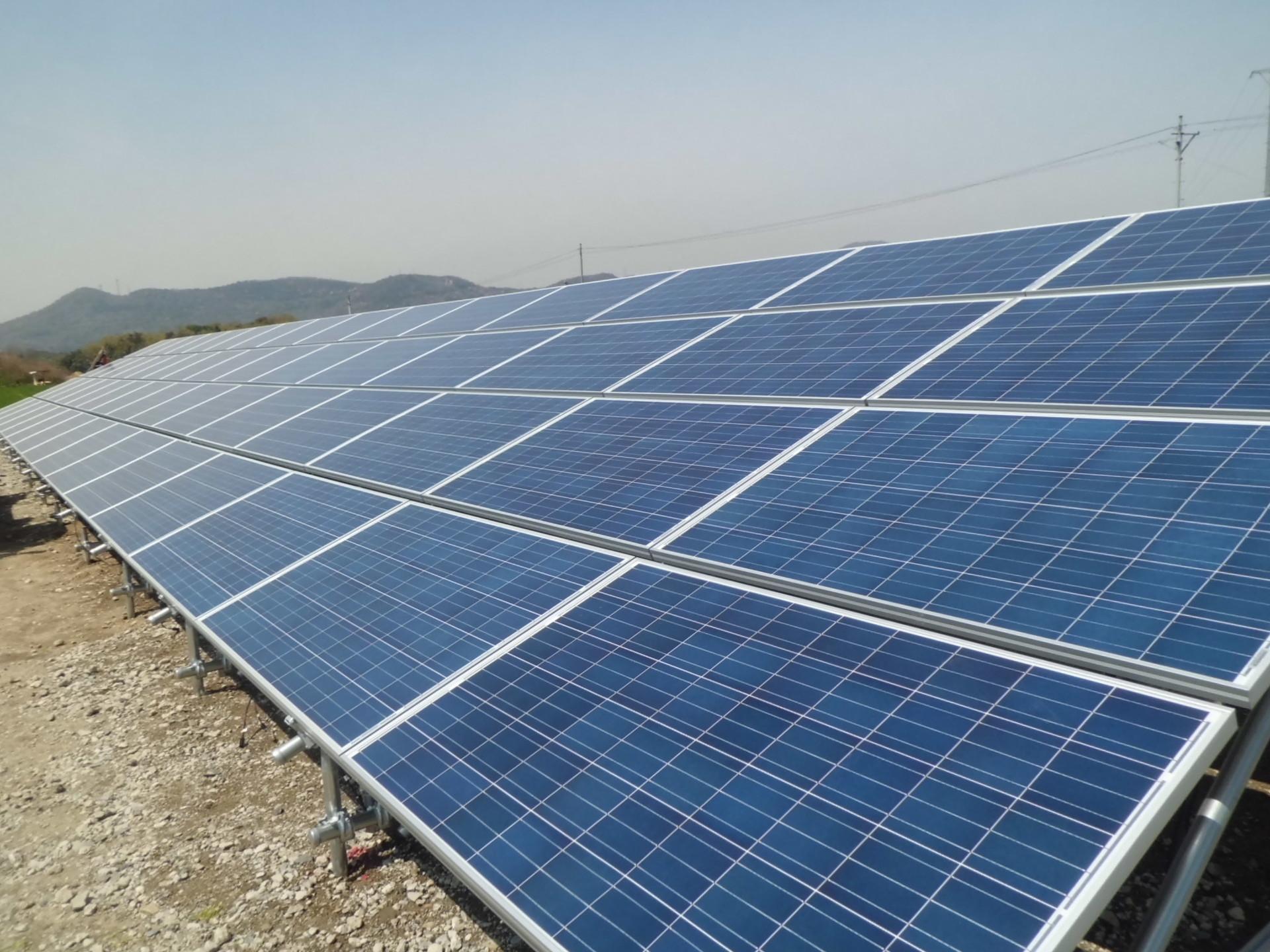 太陽光発電の構成比率