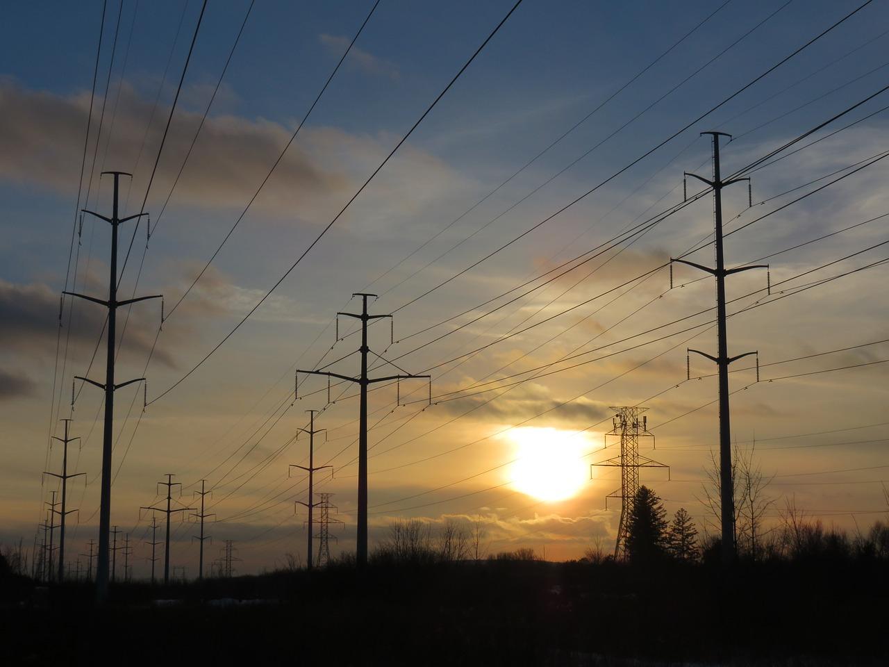 エネルギー 送電線