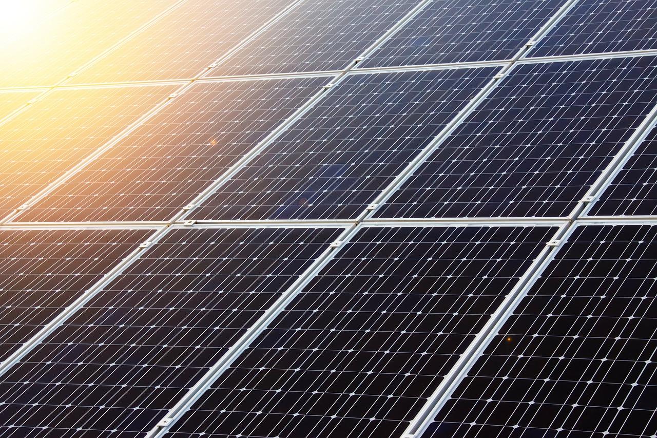 開発が進む新型ソーラーパネル