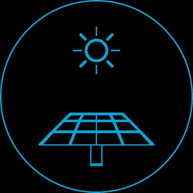 産業用太陽光発電120棟以上